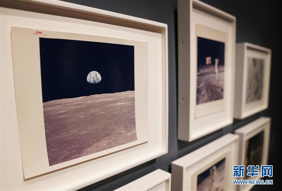 """(國際)(5)""""銀色月光下:百年月球影像""""將在華盛頓展出"""