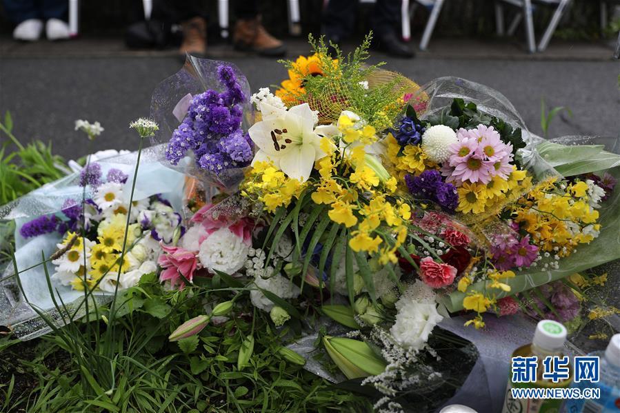 (国际)(1)日本民众悼念京都纵火杀人案死者