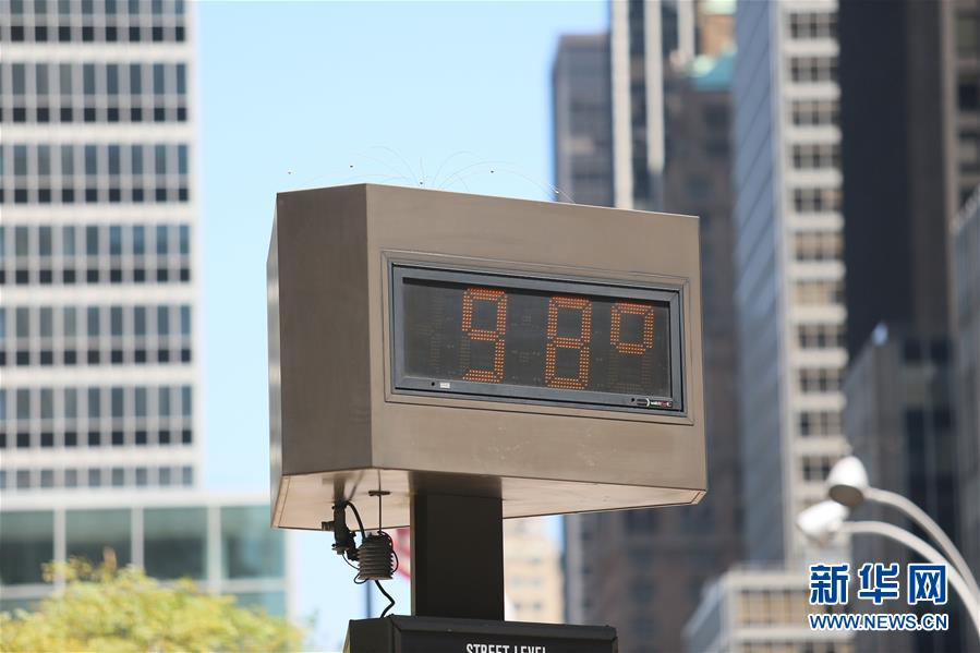 (國際)(2)紐約持續高溫天氣
