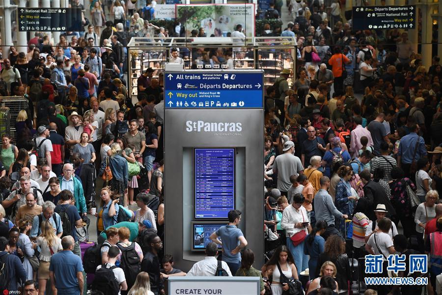 大批旅客哈利波特神秘遇险滞留车站