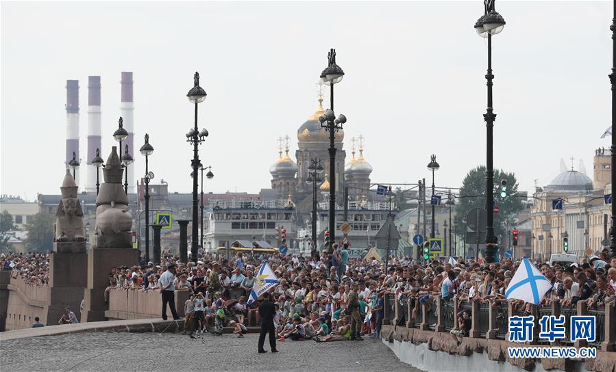 (國際)(3)俄羅斯慶祝海軍節