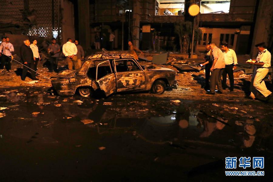 (國際)(5)埃及首都開羅發生爆炸