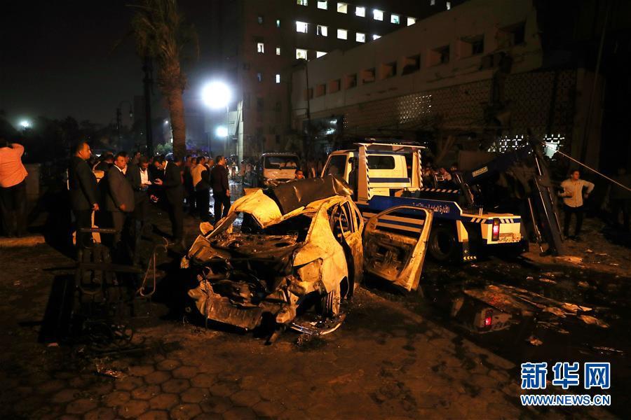 (國際)(6)埃及首都開羅發生爆炸