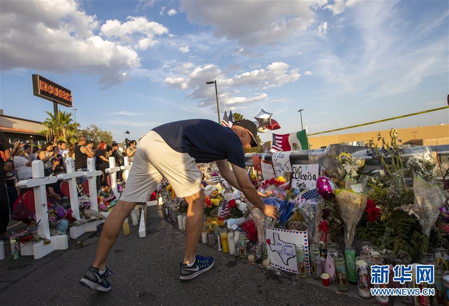 (国际)(4)美国警方公布得州枪击案遇难者身份 至少有8名外国人