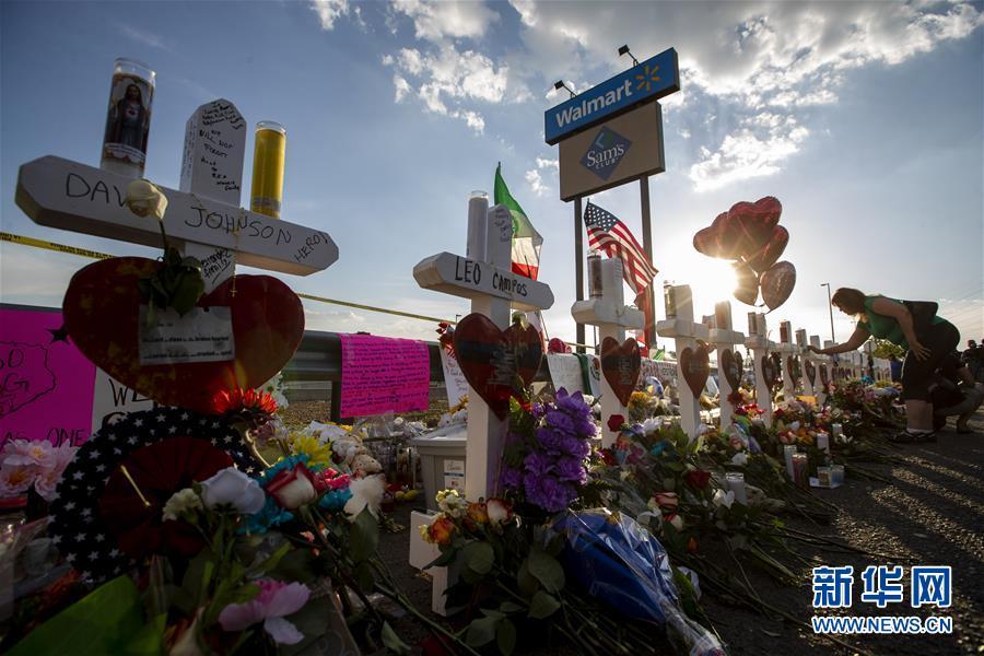 (国际)(5)美国警方公布得州枪击案遇难者身份 至少有8名外国人