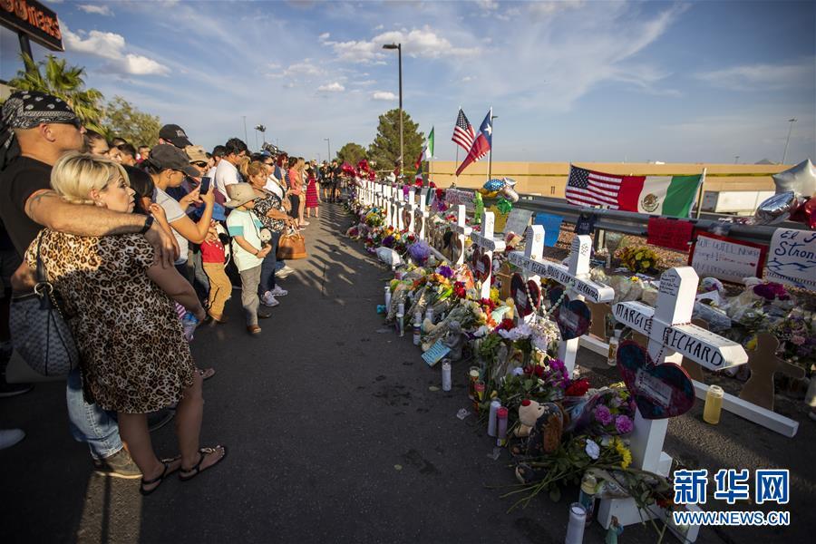 (国际)(6)美国警方公布得州枪击案遇难者身份 至少有8名外国人