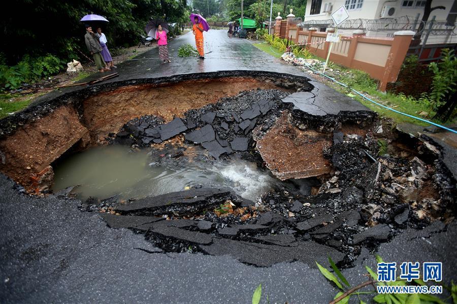 (国际)(1)缅甸孟邦山体滑死亡人数上升至29人