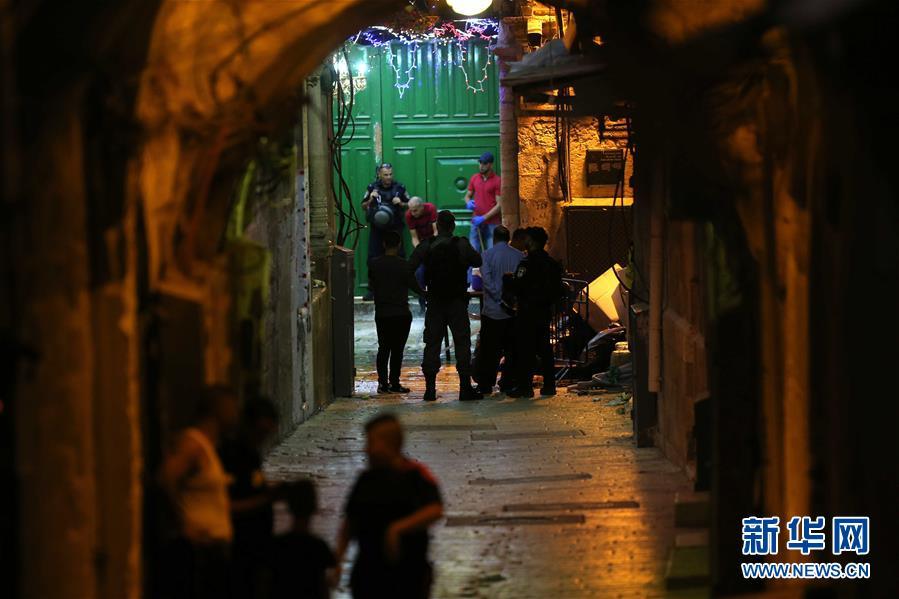 (國際)(1)以色列警察開槍打死兩名巴勒斯坦人