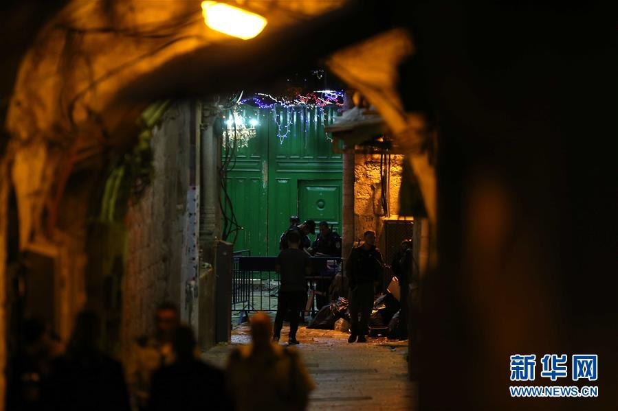 (國際)(2)以色列警察開槍打死兩名巴勒斯坦人