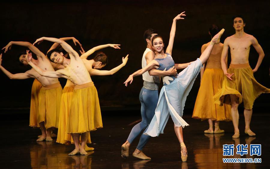 (国际)(1)广州芭蕾舞团首登纽约林肯中心