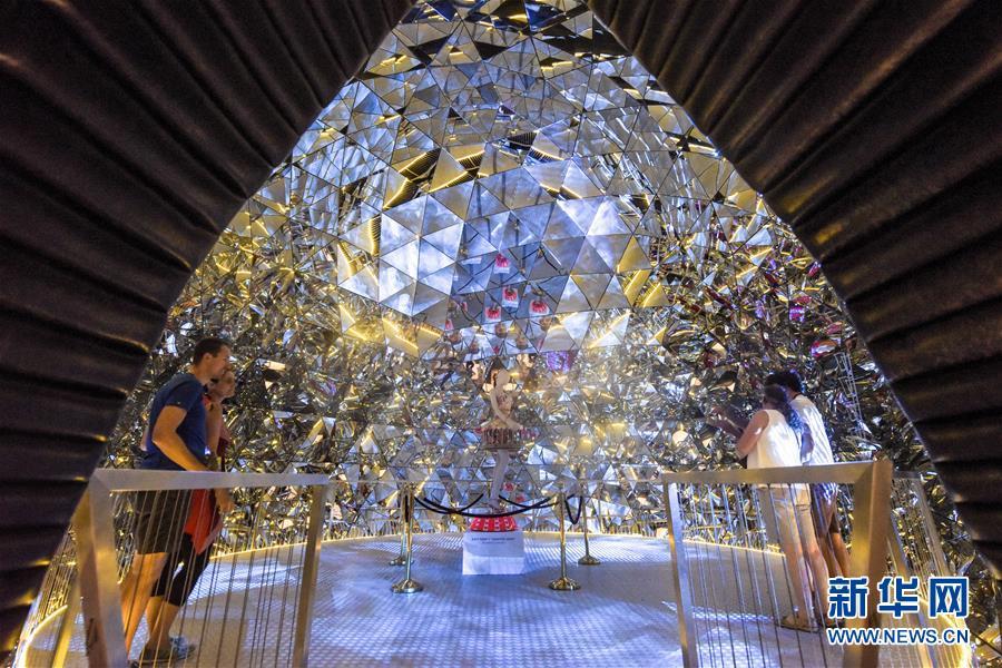 (國際)(1)探訪施華洛世奇水晶世界