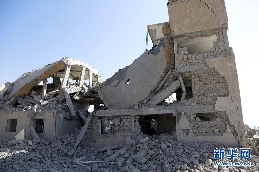(国际)(1)也门胡塞武装说多国联军空袭监狱致50人死亡