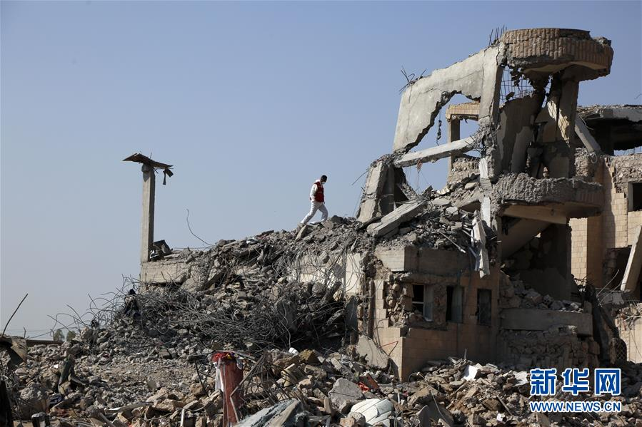 (国际)(2)也门遇袭监狱搜救工作继续