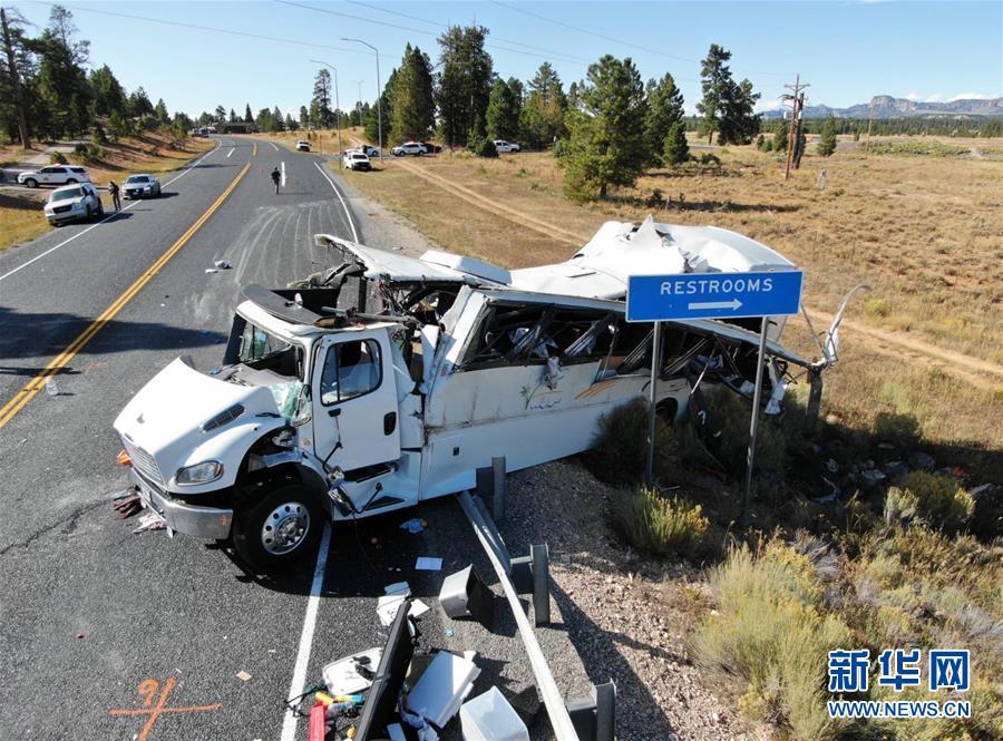 (國際)(1)中國駐美使館:猶他州車禍造成多名中國公民傷亡
