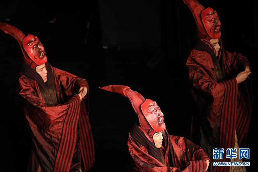 (國際)(1)音樂劇《詩經·採薇》在希臘的演出圓滿結束