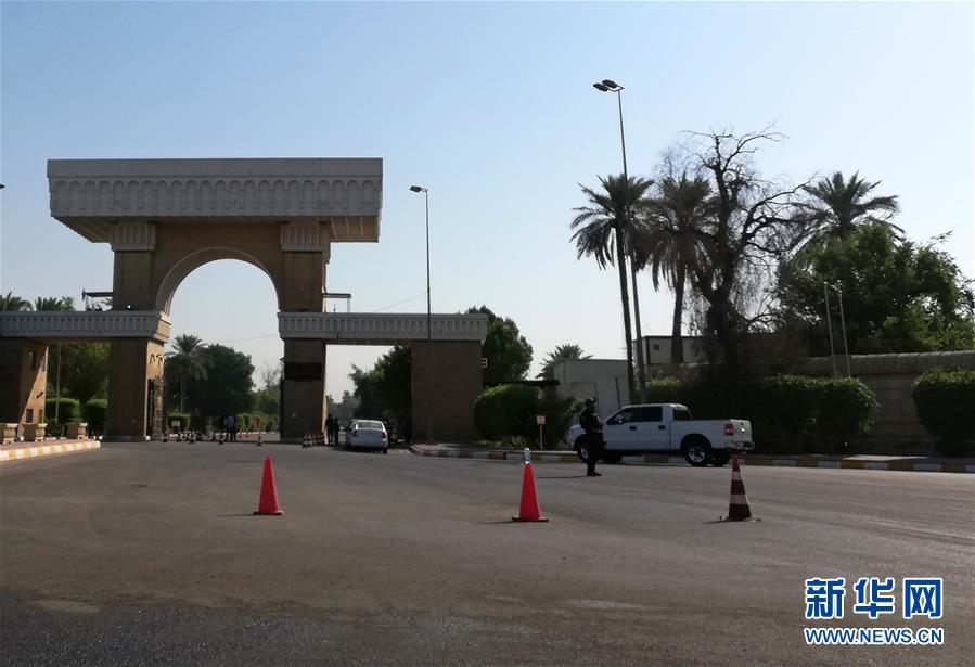 (國際)美國駐伊拉克大使館附近遭迫擊炮彈襲擊