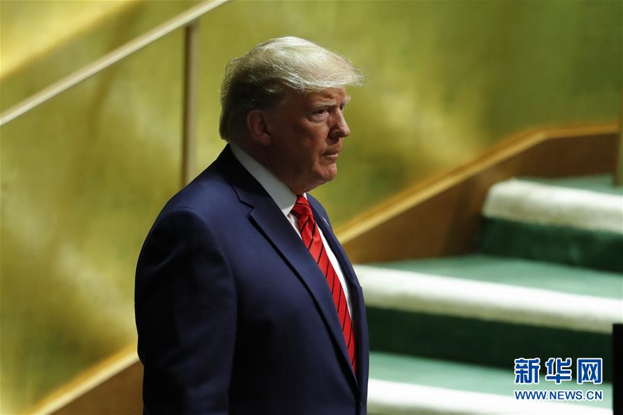 (國際)(2)特朗普聯大演講再向伊朗施壓