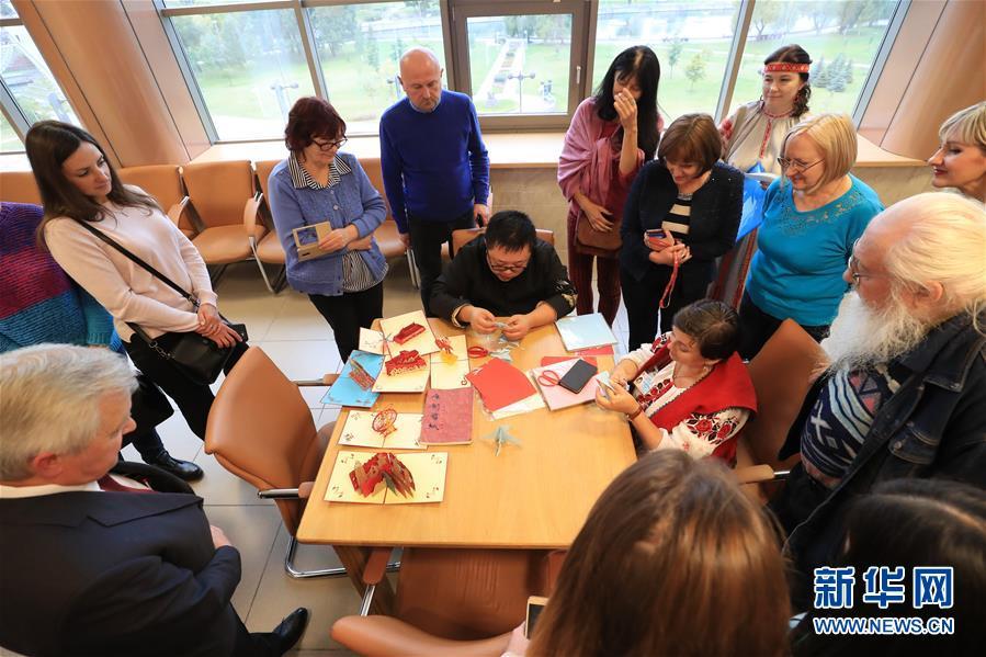 (國際)(2)中白民間藝術精品展在白俄羅斯開幕