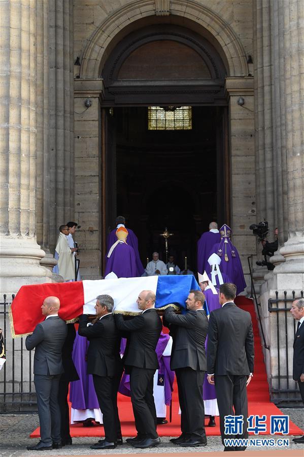 法国为前总统希拉克举行悼念仪式