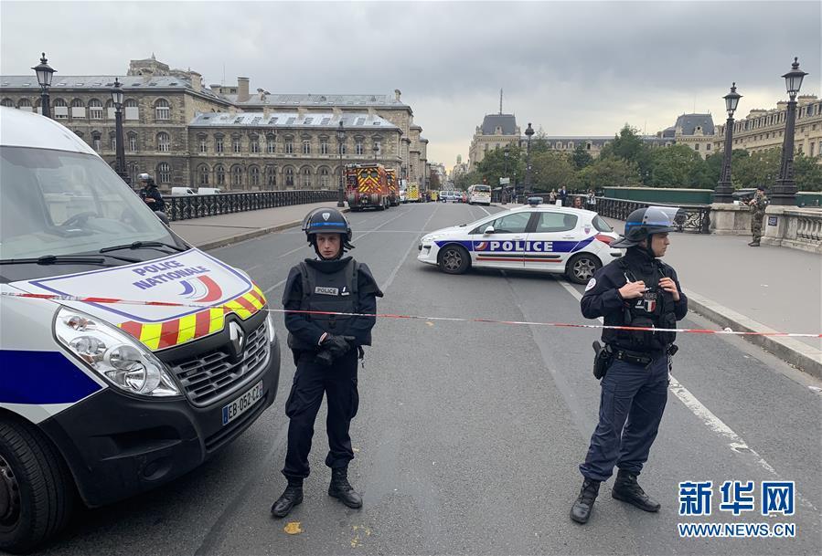 (国际)(5)巴黎警察局总部发生持刀袭击案
