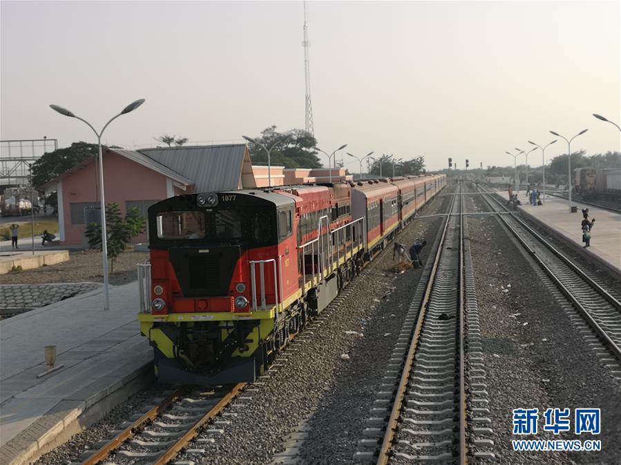 中企承建本格拉鐵路正式移交