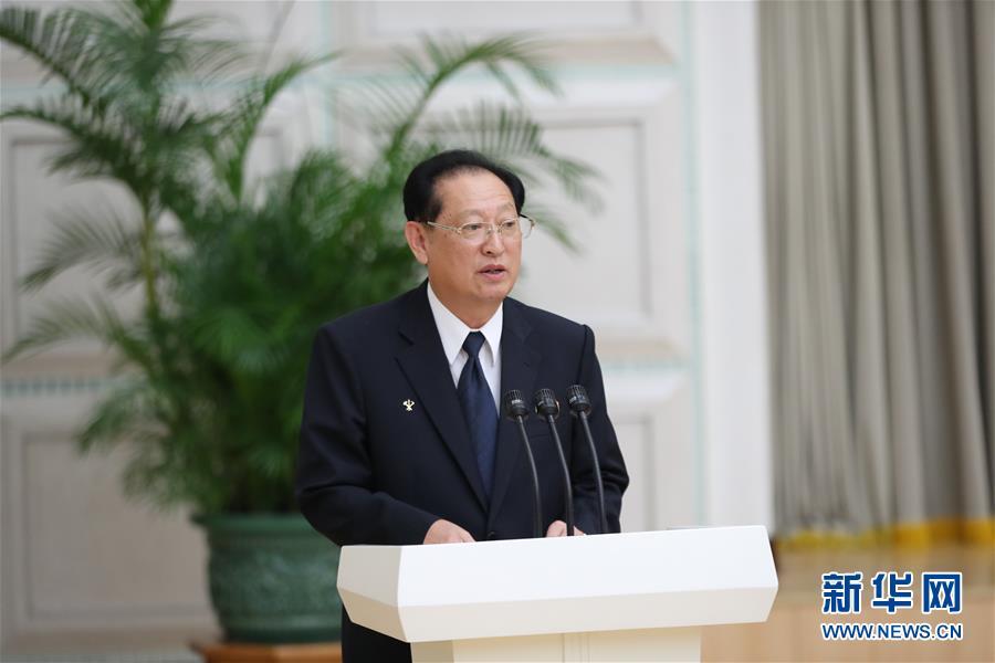 (國際)(2)朝鮮官方舉行招待會隆重慶祝朝中建交70周年