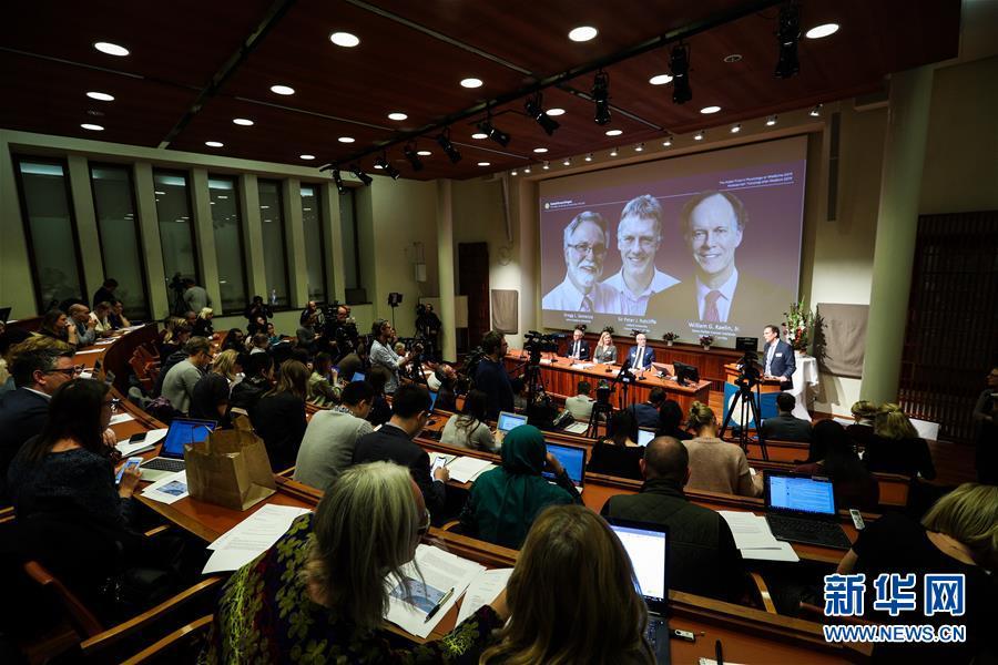 (国际)(2)三名科学家分享2019年诺贝尔生理学或医学奖