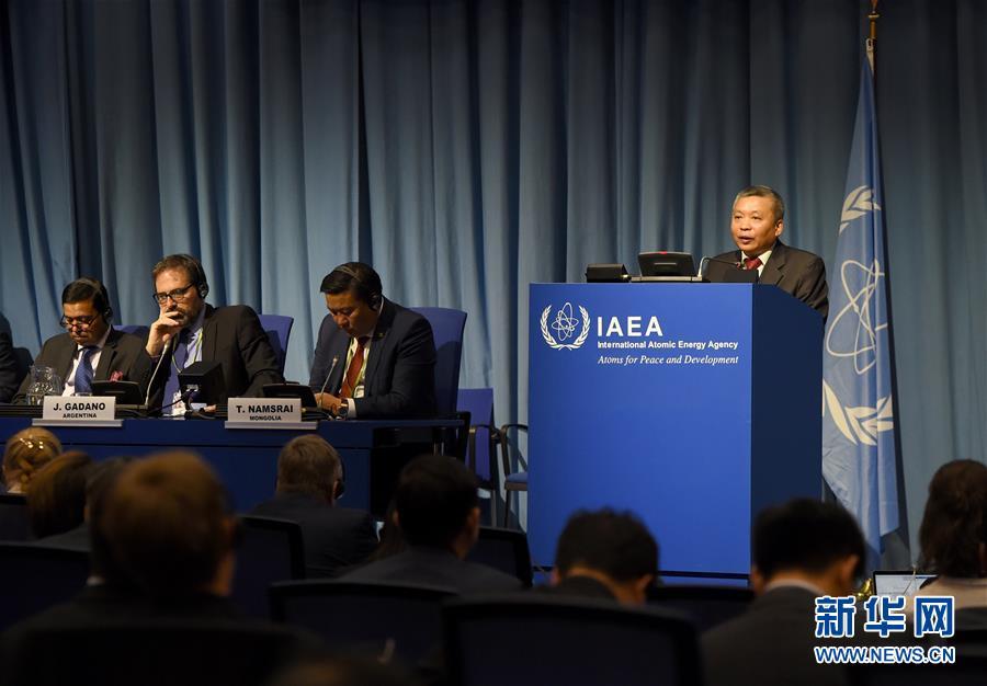 (国际・图文互动)(2)中国代表:应对气候变化,核能作用不可或缺