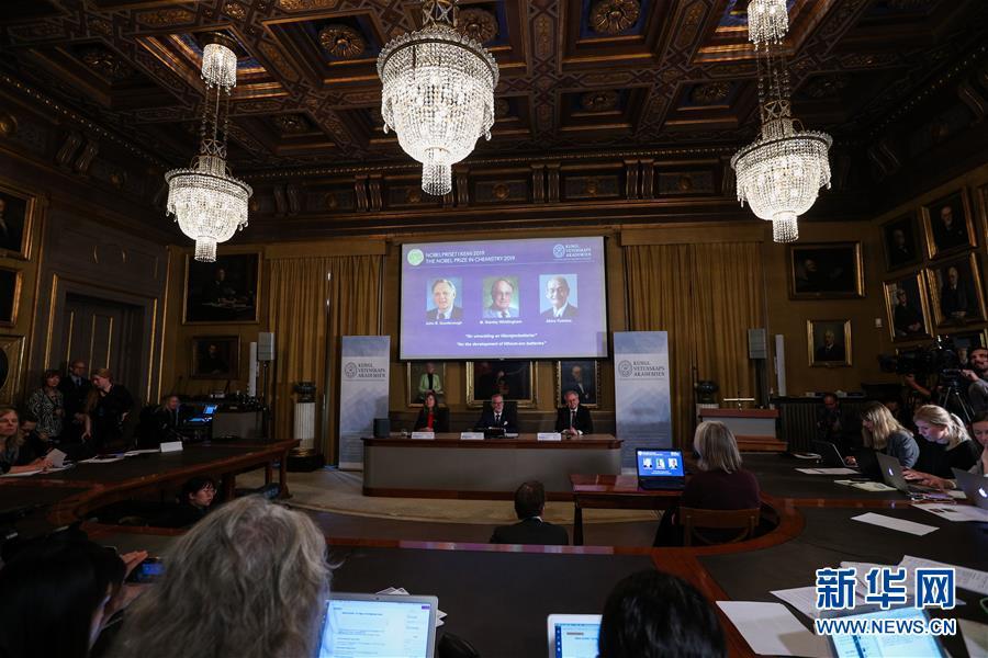 (国际)(2)三名科学家分享2019年诺贝尔化学奖