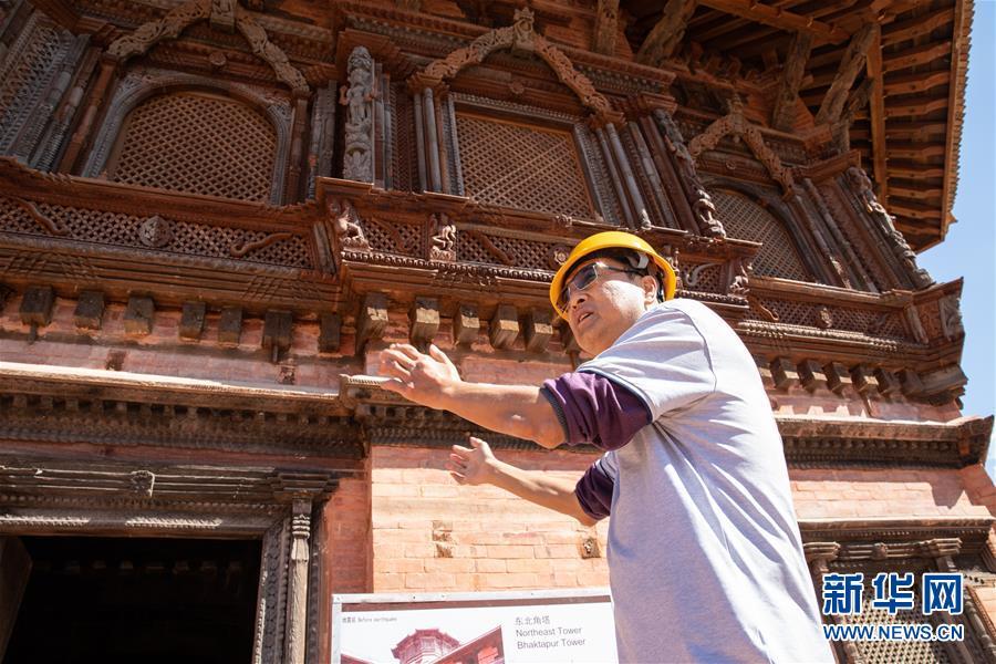 (习近平出访配合稿·图文互动)(1)通讯:尼泊尔工艺家和中国文物修复师的历史之约