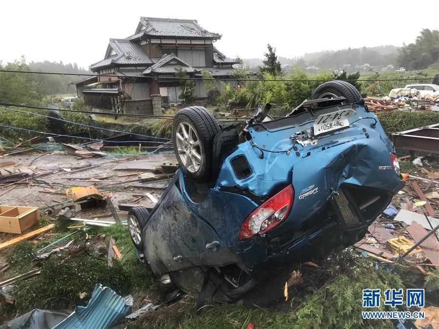 (國際)(1)日本千葉突發龍卷風1死5傷