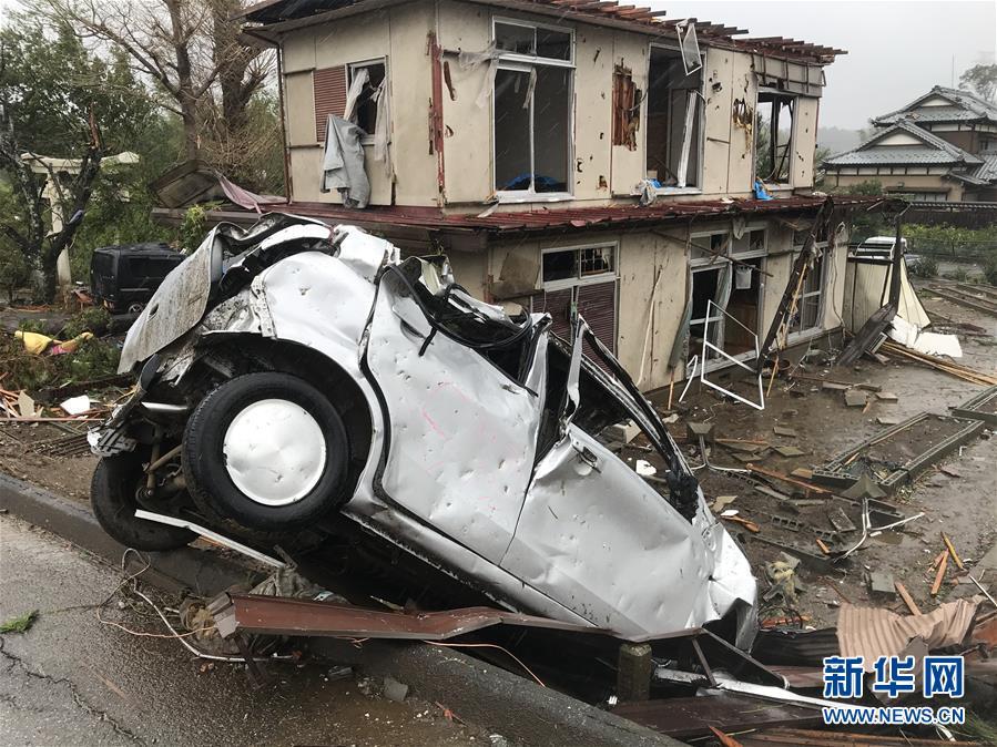 (國際)(2)日本千葉突發龍卷風1死5傷