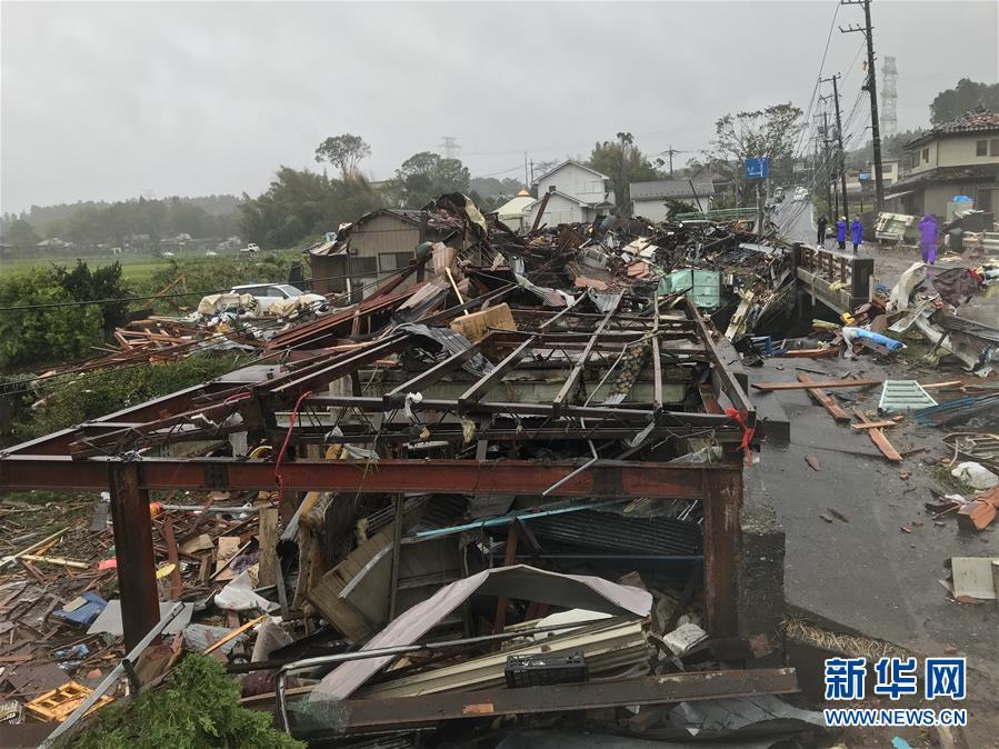 (國際)(7)日本千葉突發龍卷風1死5傷