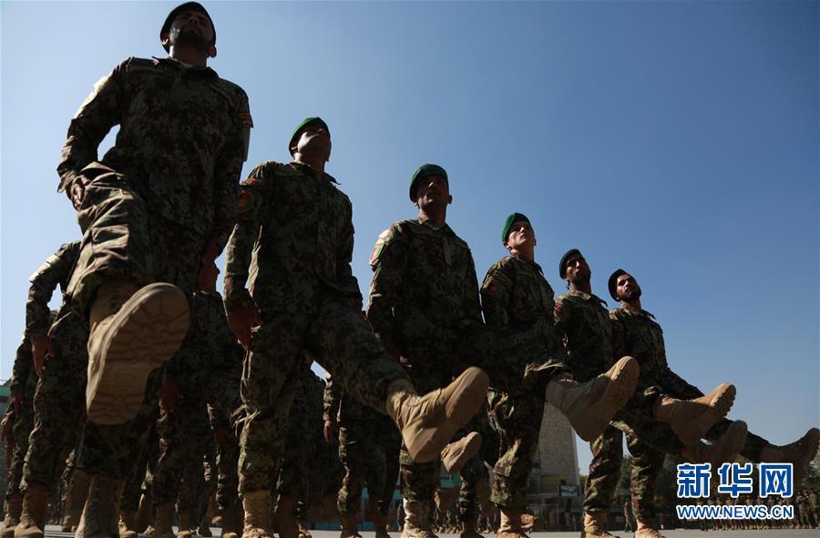 (XHDW)(1)阿富汗國民軍新兵訓練結業典禮