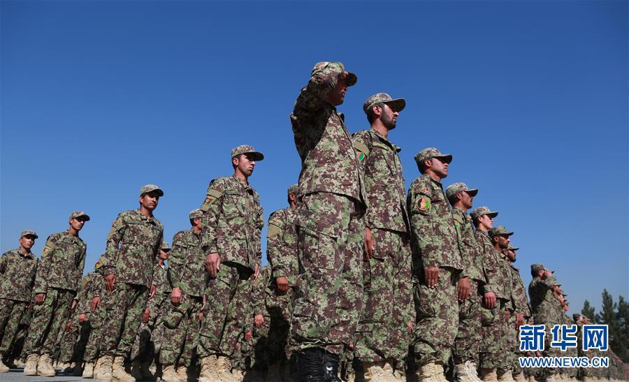 (XHDW)(2)阿富汗國民軍新兵訓練結業典禮