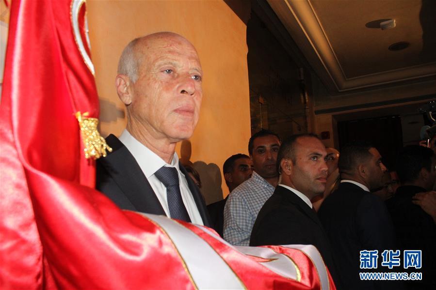 (國際)(1)出口民調顯示賽義德在突尼斯總統選舉中獲勝