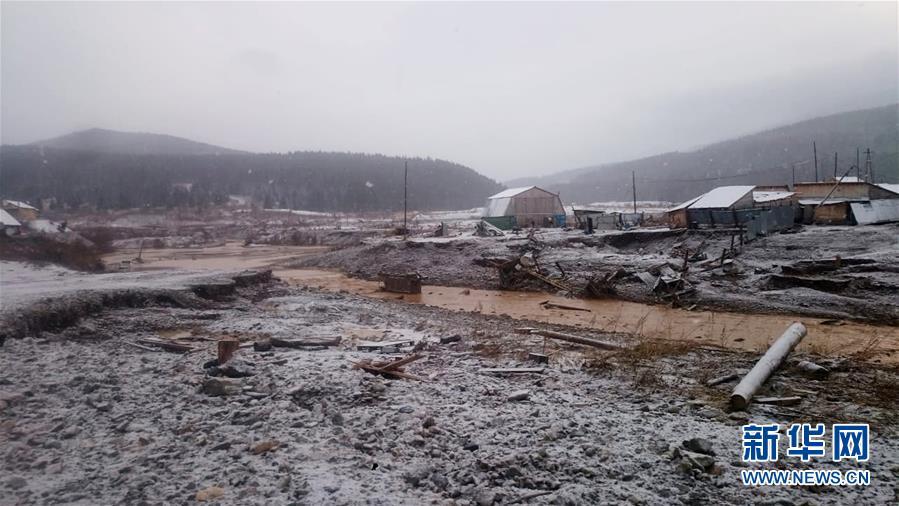 (國際)(2)俄羅斯一水壩垮塌致至少6人死亡