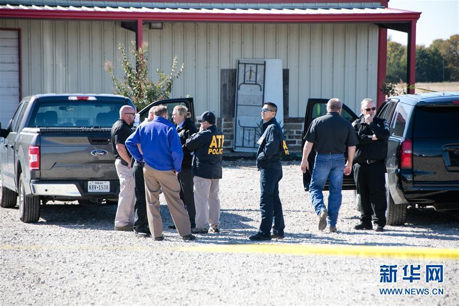 (国际)(1)美国得克萨斯州一聚会发生枪击事件两人丧生多人受伤