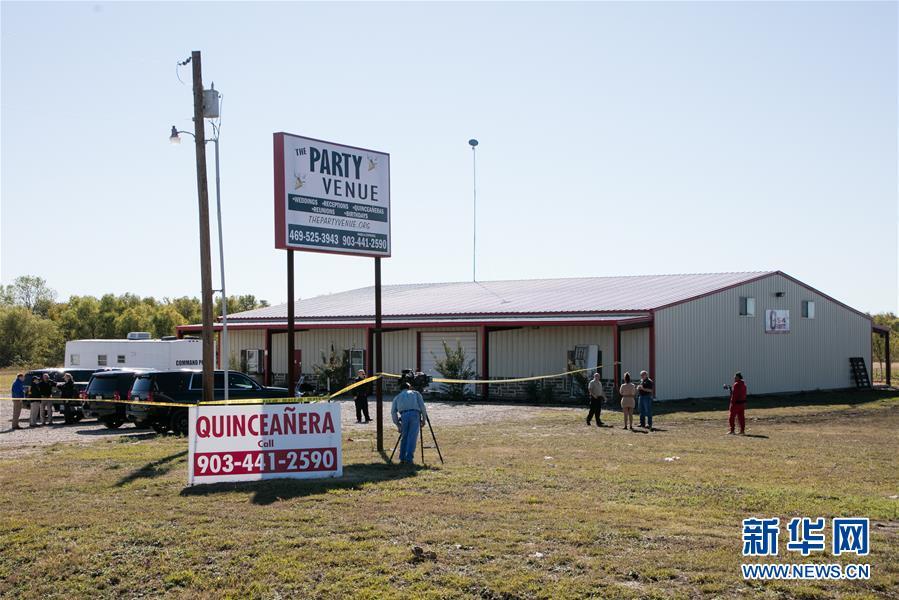 (国际)(2)美国得克萨斯州一聚会发生枪击事件两人丧生多人受伤