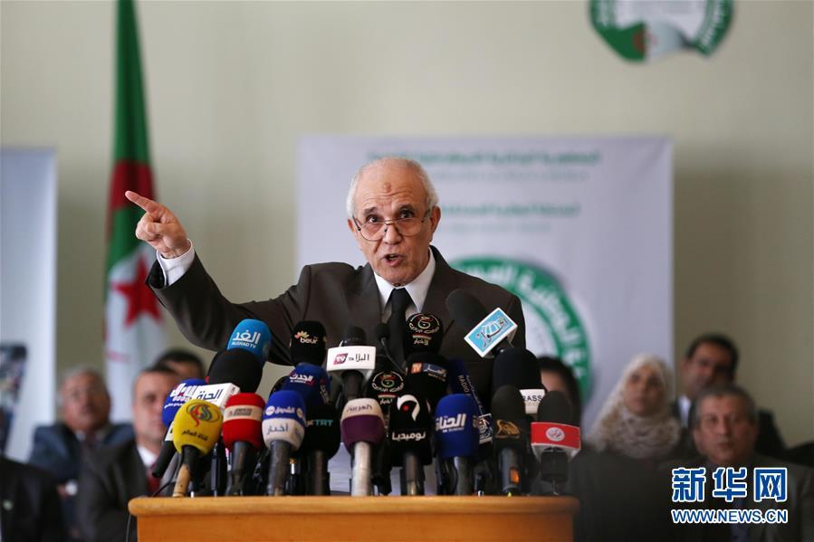 (國際)(1)阿爾及利亞宣布總統選舉候選人名單