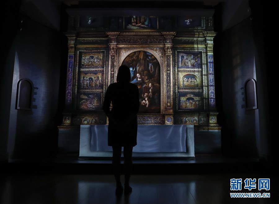 (国际)(1)英国国家美术馆将举办展览 纪念达·芬奇逝世500周年