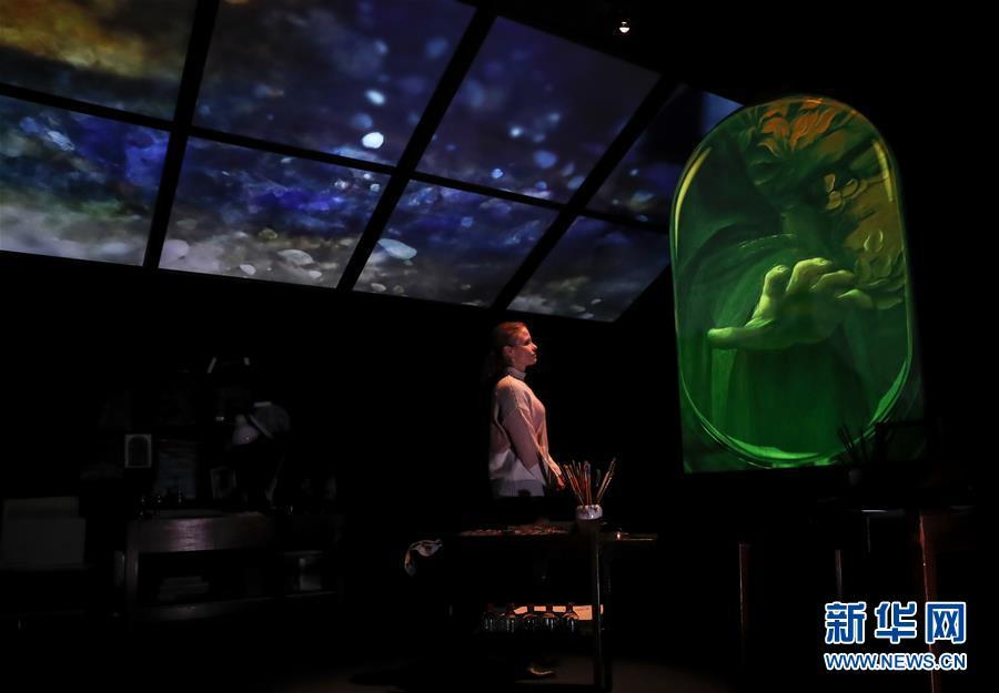 (国际)(2)英国国家美术馆将举办展览 纪念达·芬奇逝世500周年