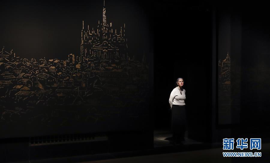(国际)(4)英国国家美术馆将举办展览 纪念达·芬奇逝世500周年