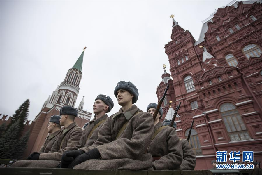 (國際)(1)莫斯科舉行閱兵紀念1941年紅場閱兵78周年