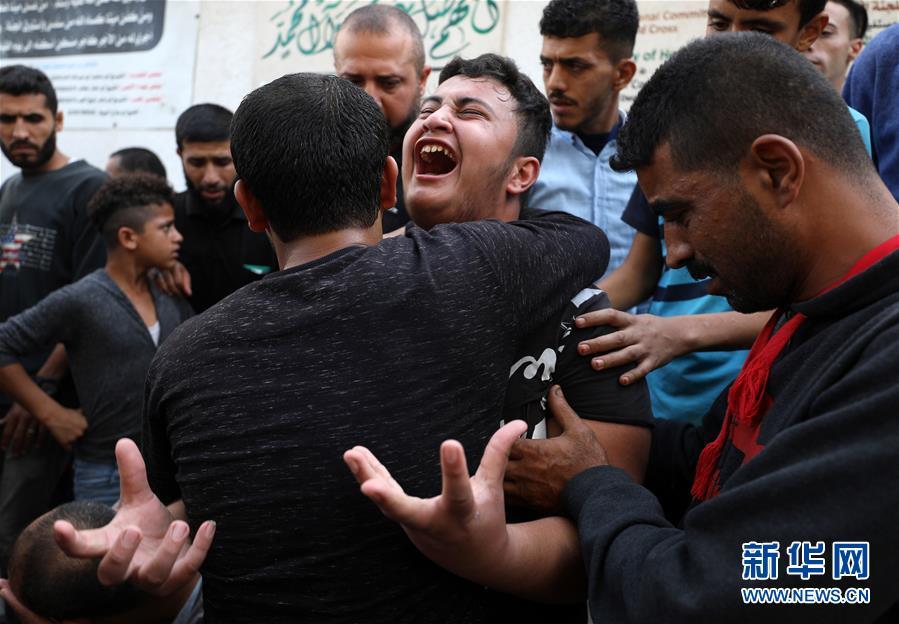 (國際)(3)以色列空襲加沙致5名巴勒斯坦人死亡