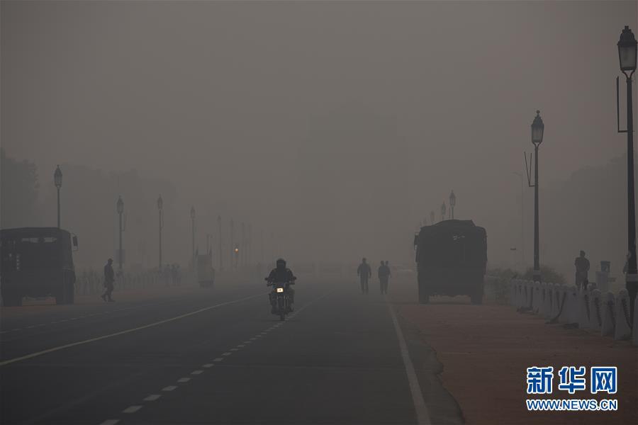 (國際)(3)印度:霧霾中的新德裏
