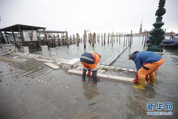 威尼斯因foganglao佛冈本地洪灾进入紧急状态