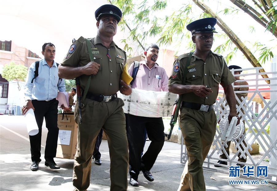 (国际)(1)斯里兰卡总统选举即将开始