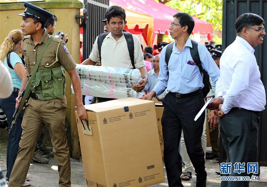 (国际)(2)斯里兰卡总统选举即将开始