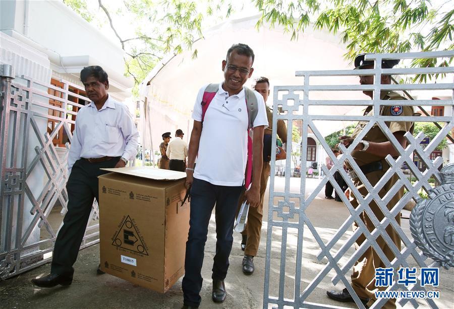 (国际)(3)斯里兰卡总统选举即将开始